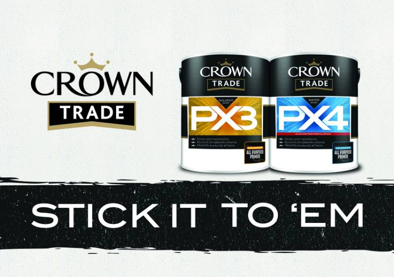 SEAL THE DEAL WITH CROWN TRADE'S NEW PRIMER RANGE