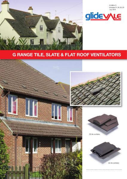 G Range Tile & Slate Ventilators