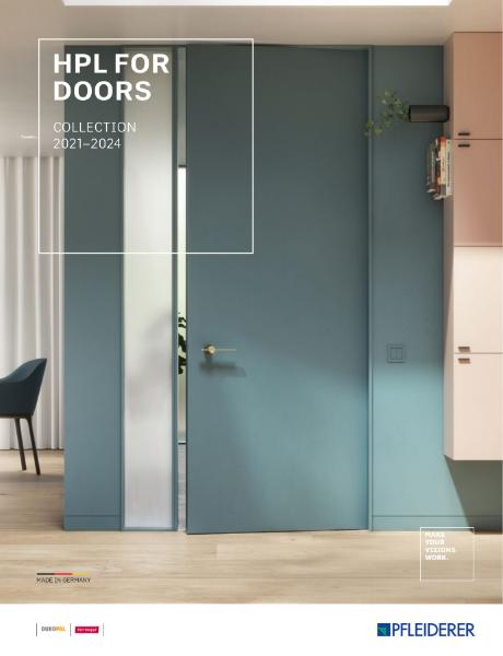 HPL for Doors 2021 - 2024