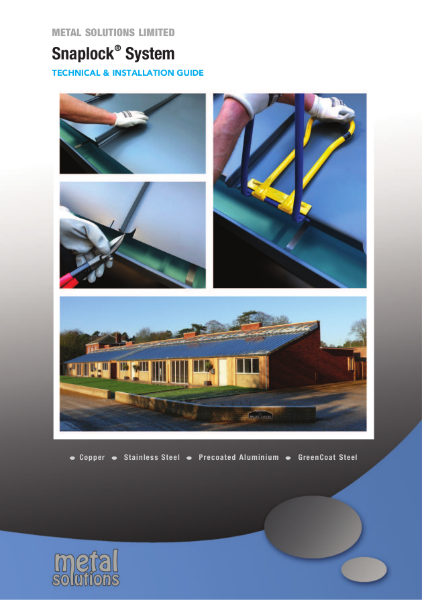 Snaplock® System Installation Guide