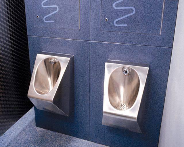 V345 Wall Mounted Bowl Urinal