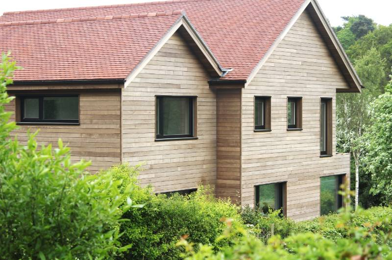 Brimstone ash cladding chosen for passivhaus development