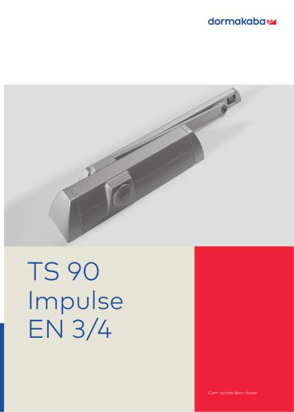 DORMA TS90 Impulse Cam-action door closer