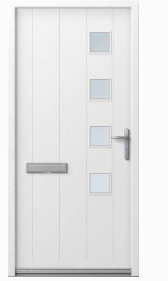 HomeGuard Inward Opening Entrance Door