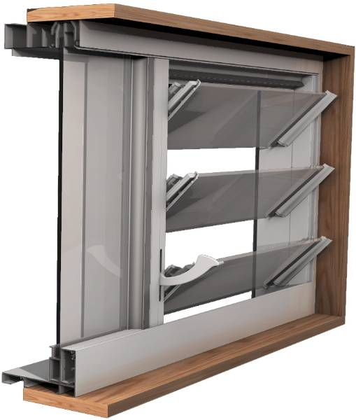 Easyscreen Window System - Fixed