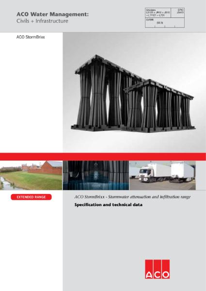 ACO Stormbrixx brochure