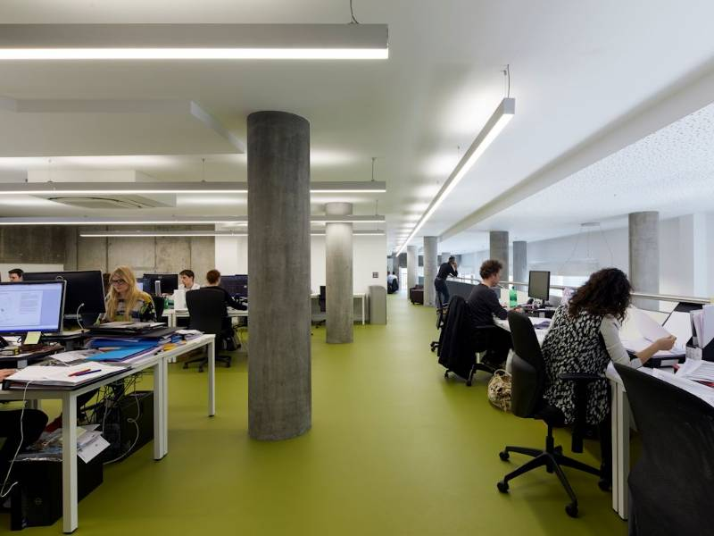 Polyflor Bloc flooring makes a statement in architects' studio