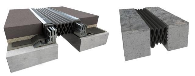 Exterior Splitslab Watertight Compression Seal Assembly (SR Series)