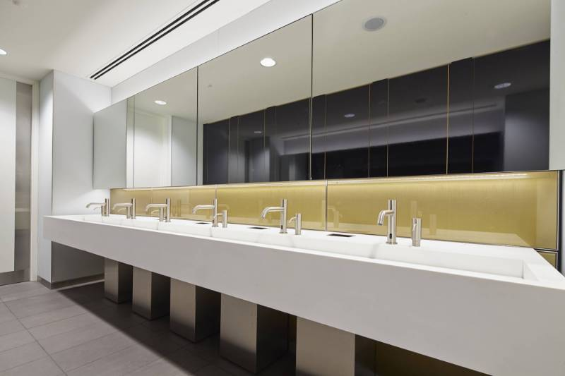 Maxwood goes for gold with luxury washrooms for London's Broadgate Quarter