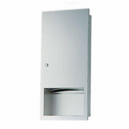 BC708 Dolphin Recessed Paper Towel Dispenser