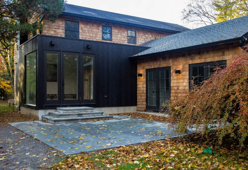 Charred Accoya selected for private residence in Bellport, New York