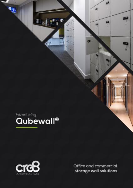 Cre8 Qubewall Brochure