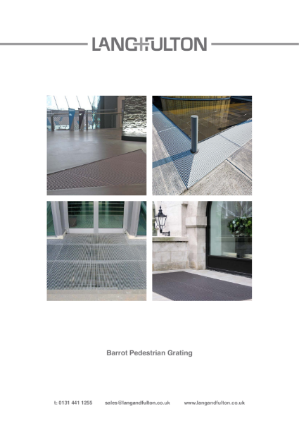 Barrot Urban Pedestrian Grating