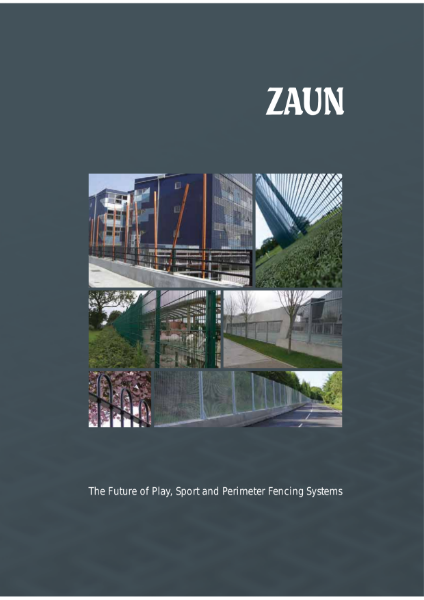 Zaun Systems Brochure