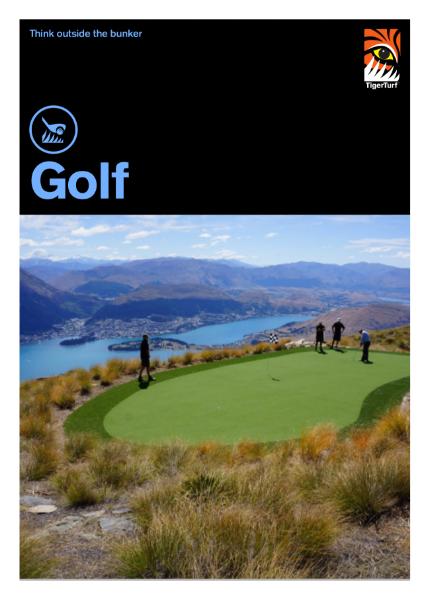 Artificial Grass - TigerTurf Golf Range