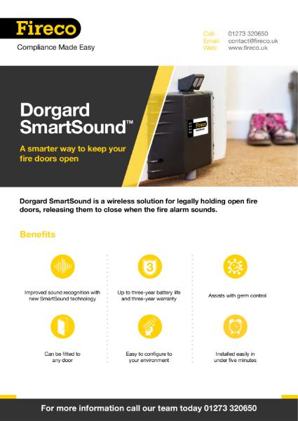 Dorgard SmartSound Product Brochure