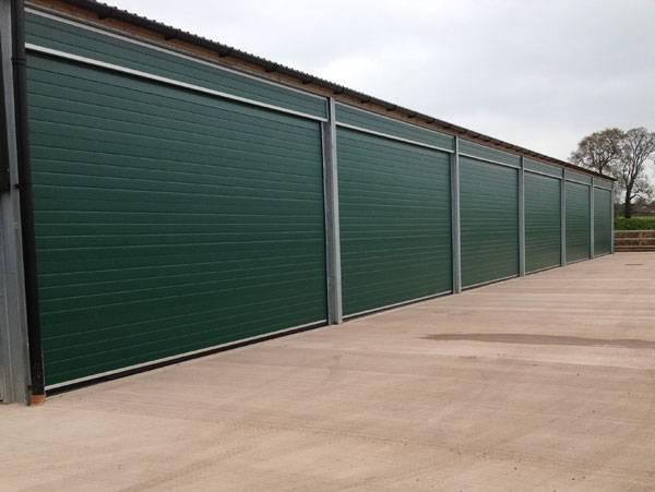 Industrial overhead sectional door S Door Standard Track