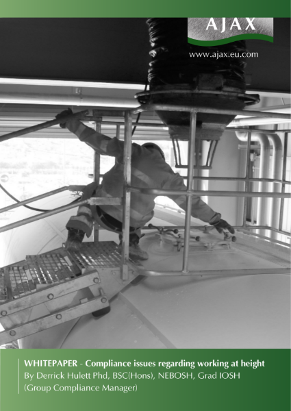 Whitepaper - compliance issues regarding working at height