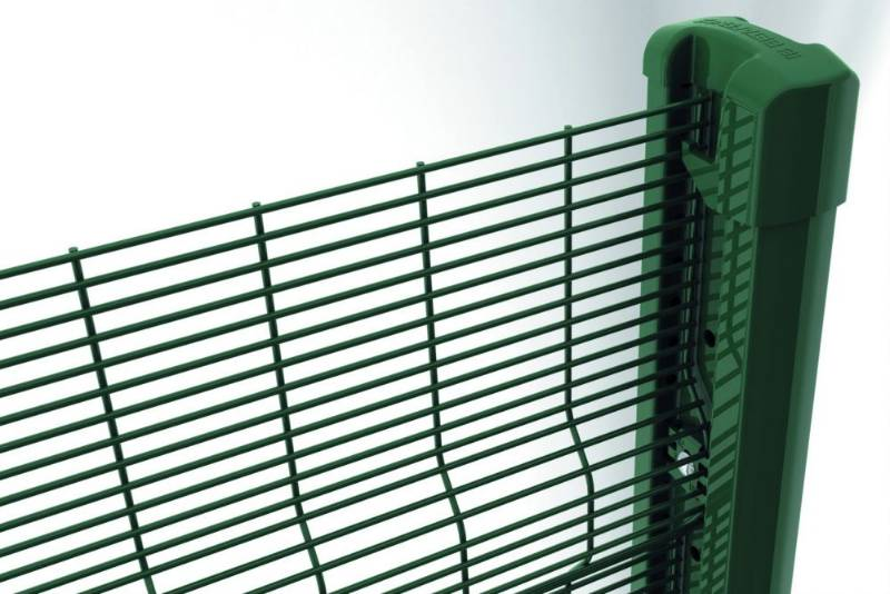 Securifor 3D + Bekafix Ultra - Metal mesh fence panel
