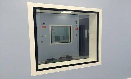 Dortek Hygienic Fire Rated Windows - Stainless Steel