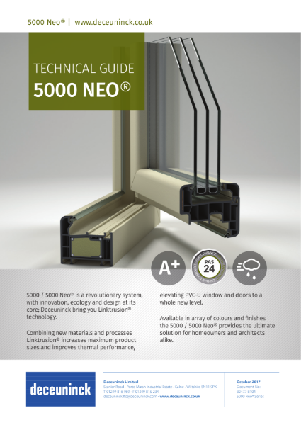 06. 5000 / 5000 Neo Composite Window Datasheet