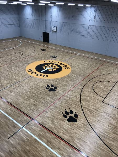 Coombe Wood School Gain Support from DYNAMIK and Basketball England