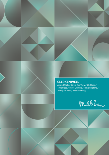 Carpet Collection - Clerkenwell Millitron Print Carpet Tiles