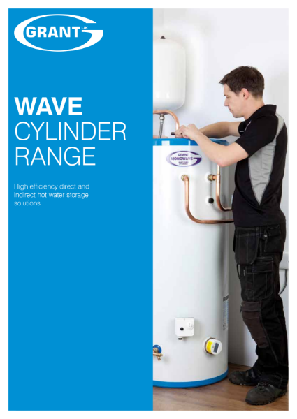 Cylinder and thermal store brochure
