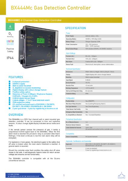 BX444MC Datasheet