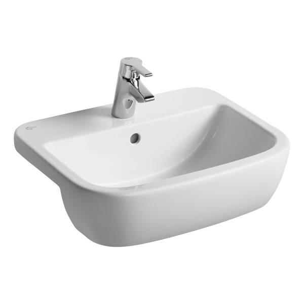Tempo 55 cm Semi-countertop Washbasin