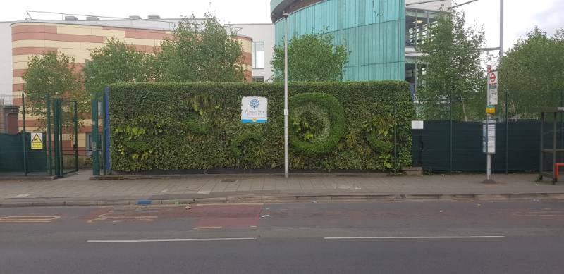 Winston Way Academy Living Wall, Illford