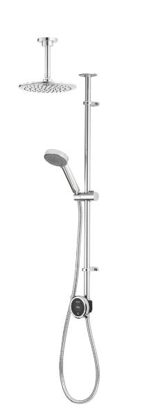 Quartz Touch Smart divert with exposed adjustable & fixed ceiling head - HP