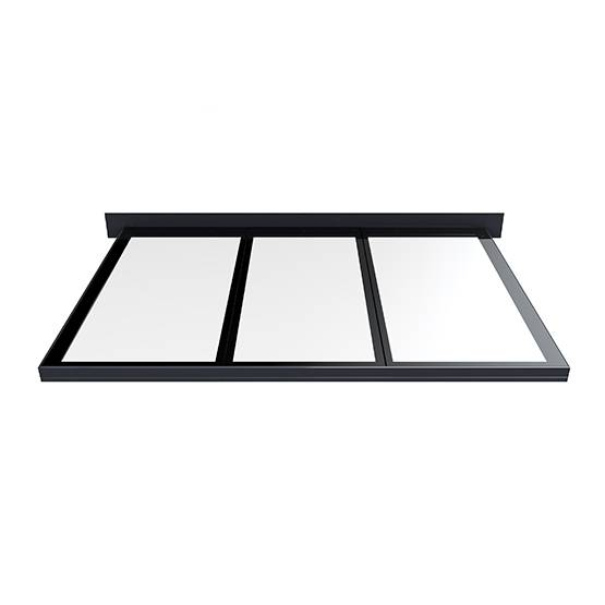 Flushglaze Multipart Rooflight - One Wall Abutment