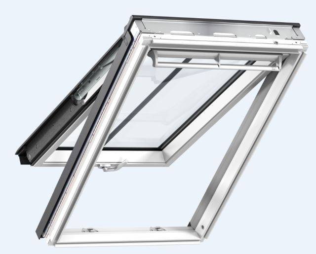 GPL manually operated, top-hung roof window, conservation style