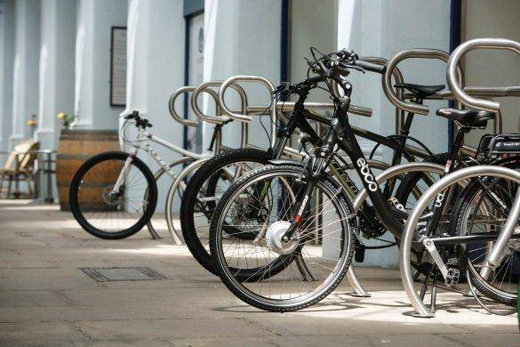 Bike Shaped Cycle Stands, Halfords