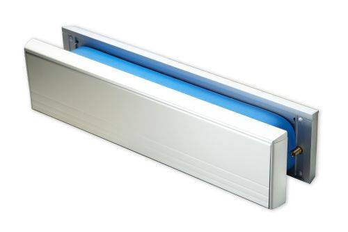 Fire and Smoke Resistant Letterplate