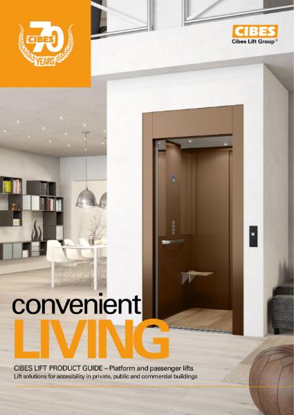 Cibes Lift UK Living Brochure