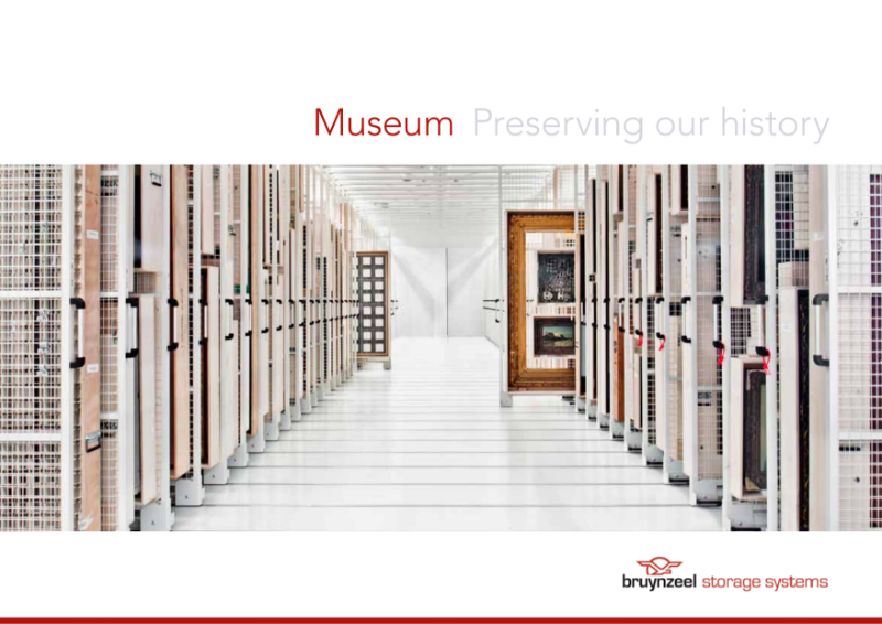 Museum repository storage solutions