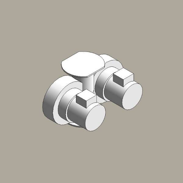 Canned rotor pump, twin head