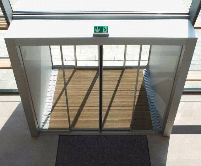 SST Automatic Sliding Doors With Full Break-Out
