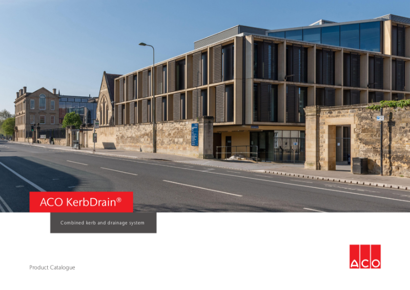 ACO KerbDrain brochure
