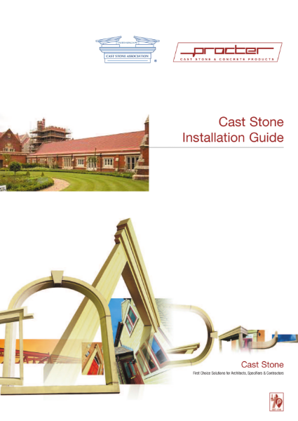 Free Guides - Cast Stone Installation