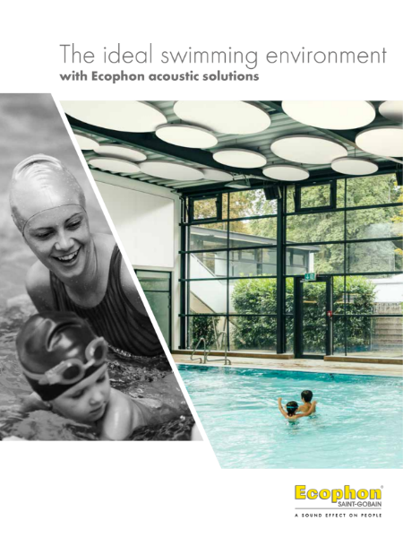 Ecophon Swimming Pool Brochure