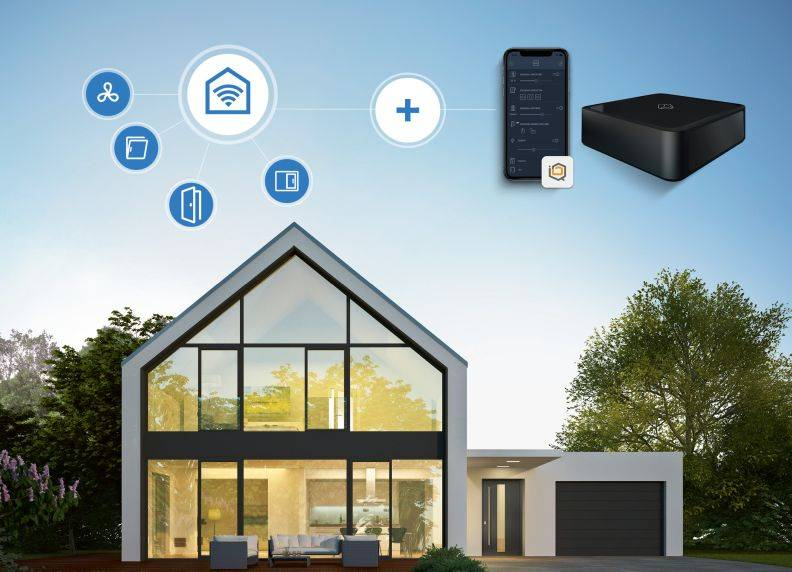 SIEGENIA products integrated into mediola smart home systems