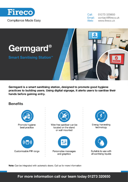 Germagard Station Product Brochure