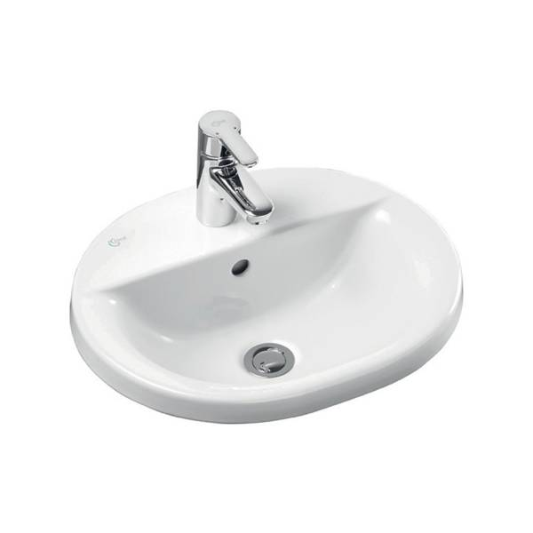 Concept Oval 48 cm Countertop Washbasin