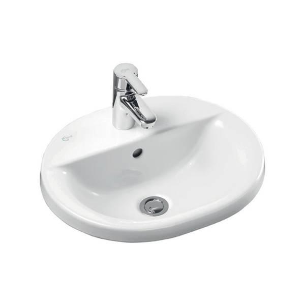 Concept Oval 48 cm Countertop Washbasin
