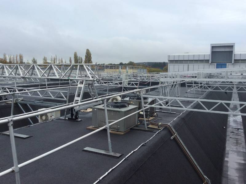 Flame-Free Roofing System Supplied Due to Sensitive Contents