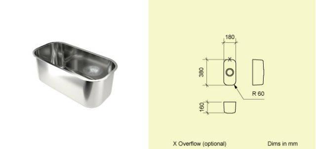 Sink Bowl T18