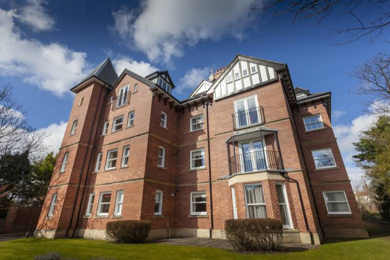 Westcliffe Court, Southport vertical sliders apartment building